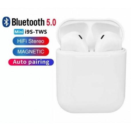 Безжични слушалки i9s TWS, Bluetooth, V5.0 + EDR, съвместими с IOS, Android, PC
