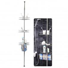 Етажерка за баня на 3 нива - телескопична