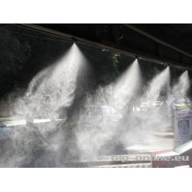 Система за охлаждане с водна мъгла 15м с 8бр. месингови дюзи