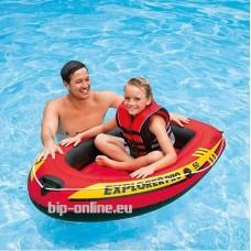 Надуваема едноместна детска лодка