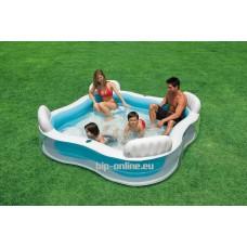 Надуваем семеен басейн