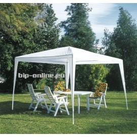 Градинска шатра павильон 3х3х2,5м бял цвят
