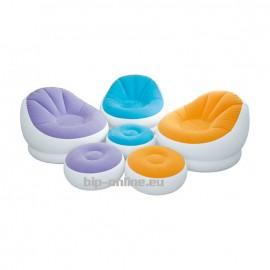 Надуваем фотьойл с табуретка в 3цвята