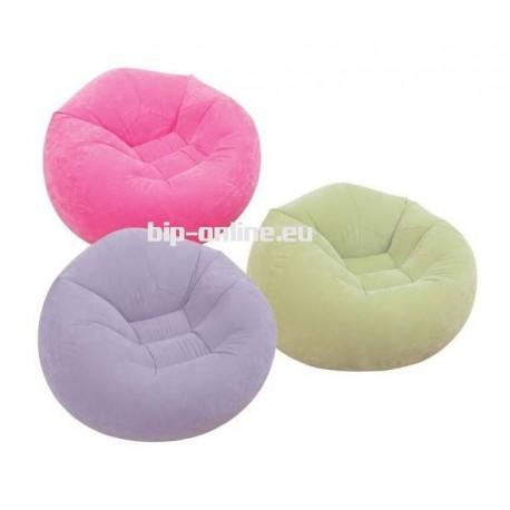 Надуваемо кресло в три цвята INTEX