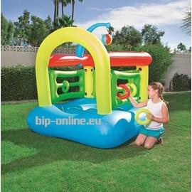 Детски център за игра с топка и надуваеми рингове