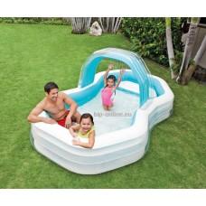 Семеен басейн с пръскало 310 х 188 х 130 см