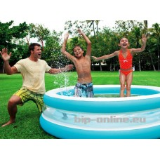 Прозрачен басейн - 203 см х 51 см