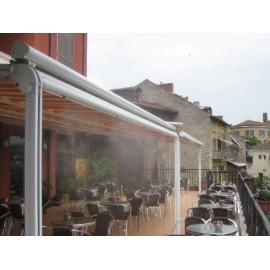 Система за охлаждане с водна мъгла 12,5м с 6бр. месингови дюзи