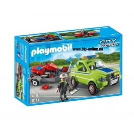 Плеймобил - Градинар с кола и градинарски принадлежности