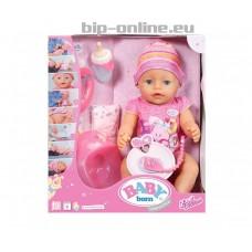 Бейби Борн - интерактивно бебе с аксесоари - момиче