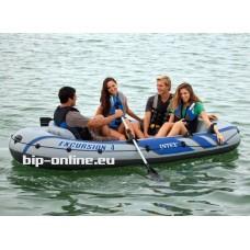 Надуваема лодка за екскурзии четириместна